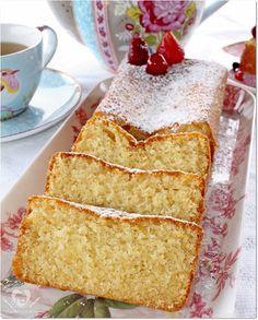 Receita fácil de bolo  fofinho de cream cheese para o lanche da tarde
