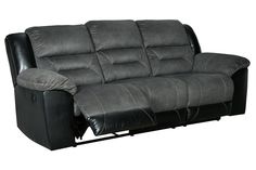 Earhart Manual Reclining Sofa | Ashley Furniture HomeStore Sofa Furniture, Living Room Furniture, Kids Furniture, Sofa And Loveseat Set, Futon Sofa, Couch, Gray Sofa, Reclining Sofa, Signature Design