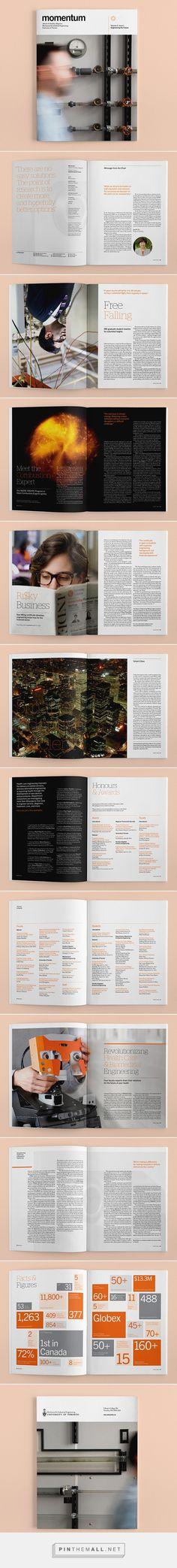 Momentum magazine Edited by University of Toronto