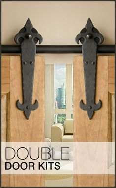 Rolling door hardware. No plans for this, but you never know!