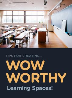 Do you want jaws to drop when people walk into your classroom? Then you'll love these tips for transforming your learning space! Classroom Setup, Classroom Design, Future Classroom, School Classroom, First Year Teachers, New Teachers, Classroom Organisation, Classroom Management, Organization