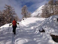 Der #Winterwanderweg in #Prägraten, Berger Eck & #Bodenalm. #osttirol #ferienregion #naturpark #langlaufen #winterwandern #wandern #natur #berge #alpen