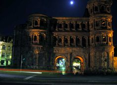 Porta Negra, Trier, Germany - There is no mortar in this whole structure!