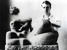 Henry Moore (British Sculpture) Late Modern period. Most known for his mother and child or Female figures done in epic proportions that are are abstractions of the Human Figure.