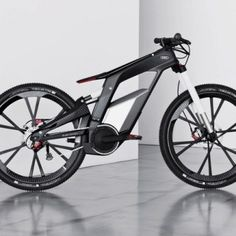 Check out this sexxxxxyyyyyy bike from Audi! The new Audi E-Bike! E Biker, Audi Cars, Wtf Fun Facts, Bicycle Accessories, Men's Accessories, Electric Bicycle, Bicycle Design, Sidecar, Motorbikes