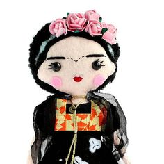 Items similar to Specialty doll - Mexican artist, painter art doll. Perfect gift idea - Limited Edition on Etsy