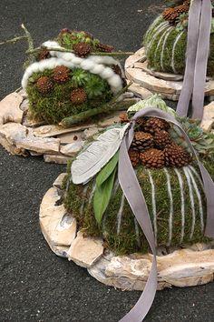 Idées d& de Noël & Totensonntag - Basteln Weihnachten - Indoor Bonsai Tree, Outdoor Trees, Unique Trees, Great Hobbies, Different Plants, Creative Kids, Pine Cones, Beautiful Gardens, Fall Decor