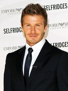 David Beckham is beautiful