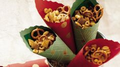 Party time?  Bring on the snack mix!