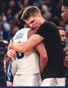 Tre Jones and Joey Baker # Brotherly love Duke Blue Devils, Duke University, Brotherly Love, Duke Basketball, Boyfriends, My Boys, Couple Photos, Couple Photography, Guys