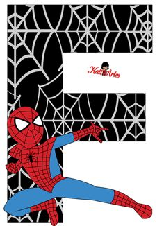 - Visit to grab an amazing super hero shirt now on sale! Spider Man Party, Spiderman Theme, Black Spiderman, Spiderman Stickers, Superhero Birthday Party, Birthday Numbers, Alphabet And Numbers, Baby Scrapbook, Party Printables