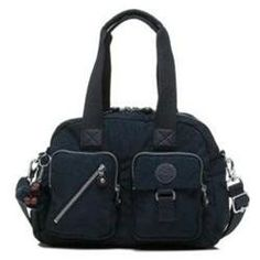 Kipling Luggage Defea Handbag With Shoulder Strap True Blue One Size A Proven Besting Which Can Also Be Worn As Bag Or Acr