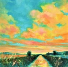 Buy Sunset from Cow Bridge, Acrylic painting by Jamie Sugg on Artfinder. Discover thousands of other original paintings, prints, sculptures and photography from independent artists.