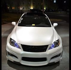 Lexus ISF modified
