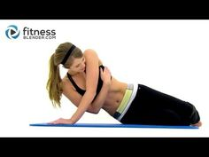 Just finished this 7 minute upper body workout video. No equipment needed. My triceps are ON FIRE!!!!