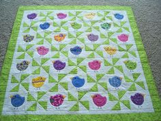 Chubby Chicks Baby quilt