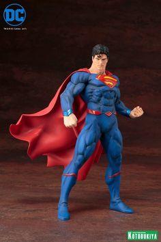 DC Comics Superman Rebirth ARTFX+ Statue Images From Kotobukiya