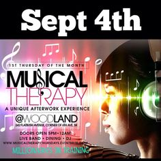 Musical Therapy Aferwork Experience @ Woodland Thursday September 4, 2014 « Bomb Parties – Club Events and Parties – NYC Nightlife Promotion...