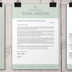 Sofia – SmartBewerbung Personalized Items, Templates