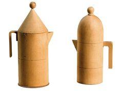 Models for Aldo Rossi designed Espresso makers made by Giovanni Sacchi