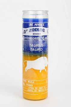 Zodiac Candle