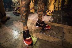 First Look: LimitEDitions X Diadora N9000 'Correfocs' - Sneaker Freaker Fiery Red, Shoe Organizer, Me Too Shoes, Sneaker, Leather, Slippers, Shoes Sneakers, Workout Shoes, Tennis