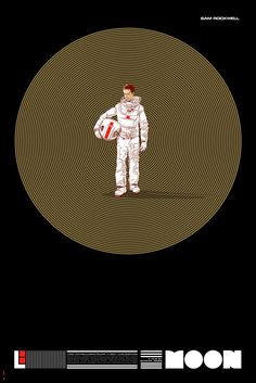 Moon by All City Media. Sam Rockwell illustration by Martin Ansin