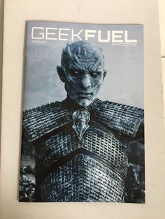 GEEK FUEL Magazine Game Of Thrones Night King Cover Issue 31 Aug 2017 New 19 Pgs