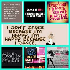 Dance quotes to live by. <3
