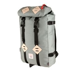 Nation State — Topo Designs Klettersack - Grey