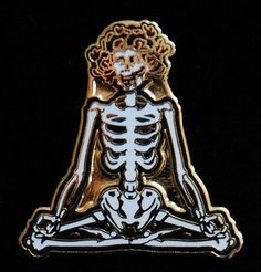 Bertha's Consciousness (Grateful Dead Pin)