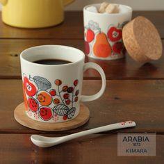 【冬季限定】 ARABIA(アラビア) KIMARA(キマラ) マグ【楽天市場】 Vintage Kitchenware, Vintage Ceramic, Ceramic Art, Country House Design, Pottery Designs, Marimekko, Hand Painted Ceramics, Finland, Dinnerware