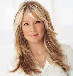 Long Layered Haircuts for Over 50