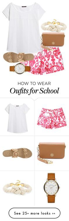 """""""First week of school outfit #4"""" by malloryhatchett on Polyvore"""
