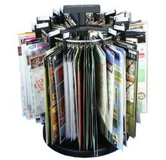 Clip It Up Rotating Craft-Storage Rack For Stickers & Embellishments