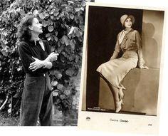 Style Icon: Greta Garbo -