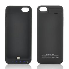 External Battery Case for iPhone 5/5C/5S with built-in 2200mAh battery and custom cutouts. Protect your brand new iPhone while adding extra battery power. You finally have it! Apple's latest phone is