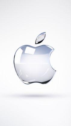 iPhone 5 Wallpaper Apple White Logo 03