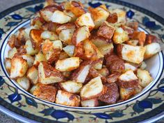 Roasted Potatoes with Parmesan and Oregano