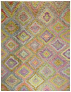 3879 Old Yarn PomPom Rug Takmak 296x392cm