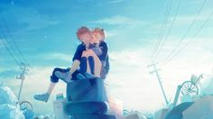 Shoyo Hinata and Hitoka Yachi Haikyuu Anime Wallpaper