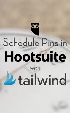 Now you can Schedule Pins in Hootsuite with Tailwind. Install the free Tailwind app in your Hootsuite app directory and you'll have pin scheduling alongside your social media management in minutes.