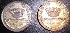 ROYAL NAVY HOSPITAL TRAINING DIVISION MEDALS PLYMOUTH 1952 RARE
