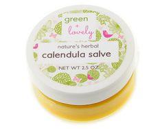 Nature's Herbal Calendula Salve Cream. Organic. Gentle multipurpose skin cream. Healing /// Eczema. Cuts. Bruises. Burn Cream. Newborn Safe.