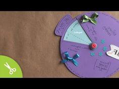 Tarjeta-carta GIRATORIA // regalo original + facil - YouTube
