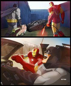 Batman x Iron Man x 'Otis' - Marco D'Alfonso a.k.a. M7781