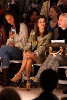 Eva Longoria Photos: Matthew Williamson - Front Row - Fall 09 MBFW