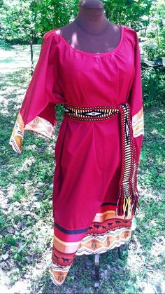 Pink beaded belt and armlet set powwow dress Native American inspired