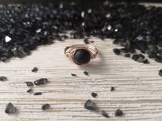 Essential oil jewelry by EssennzDesigns on Etsy Essential Oil Jewelry, Essential Oils, Stone Rings, Statement Rings, Bracelet Making, Lava, Diffuser, Wedding Rings, Rose Gold