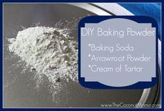 DIY Baking Powder Recipe
